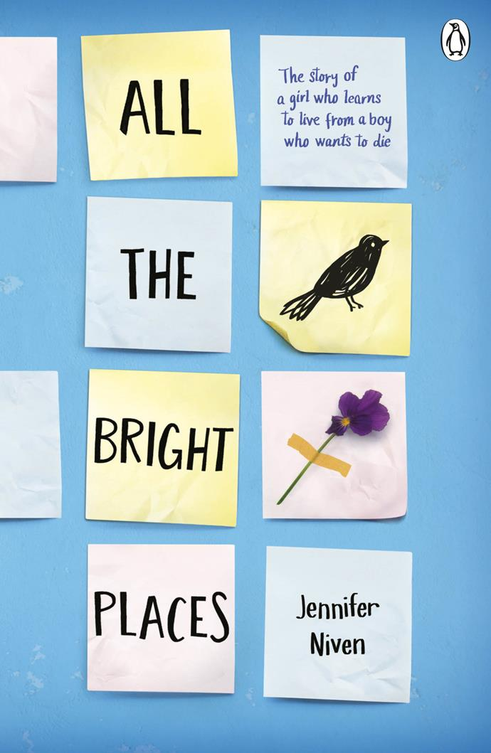 "***All The Bright Places*** **by Jennifer Niven**<br><br>  *The following synopsis deals with the topic of suicide and may be triggering for some readers. If you need support, you can call [Lifeline](https://www.lifeline.org.au/get-help/topics/lifeline-services|target=""_blank""