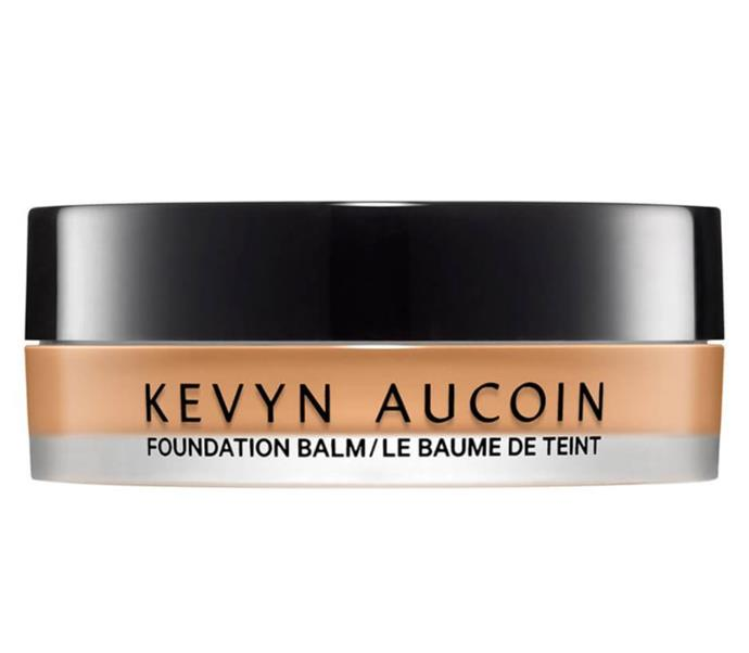 "**Best For: Skin Smoothing** <br><br> Not only is this foundation packed full of antioxidants and hydrating ingredients, the unique balm formula is the first of its kind and definitely worth the hype. <br><br> *Kevyn Aucoin The Foundation Balm, $80 at [MECCA](https://www.mecca.com.au/kevyn-aucoin/the-foundation-balm-medium-10/I-039245.html?gclid=CjwKCAiAluLvBRASEiwAAbX3Gbwah5Wh0Qlu2DY3sWZpgwpW12MspCeJjeKTTo8LvXOgzi7WObfUnRoCiEsQAvD_BwE|target=""_blank""