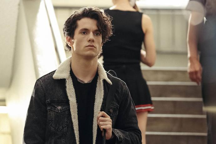 "James Scully as Jason ""JD"" Dean in 2018's *Heathers*."