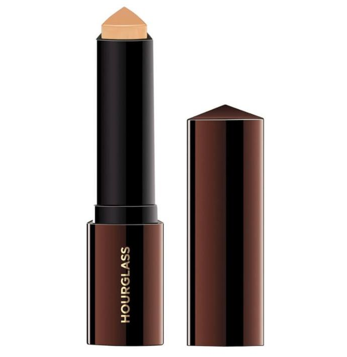 "**Best For: The Morning Rush** <br><br> Simply glide this smooth formula onto any area and blend with a brush for an instant polished look, sans the effort. The beauty of this product is that the finish is somehow flawless and skin-like at the same time. <br><br> *Hourglass Vanish Seamless Finish Foundation Stick, $70 at [MECCA](https://www.mecca.com.au/hourglass/vanish-seamless-finish-foundation-stick/V-024558.html|target=""_blank""
