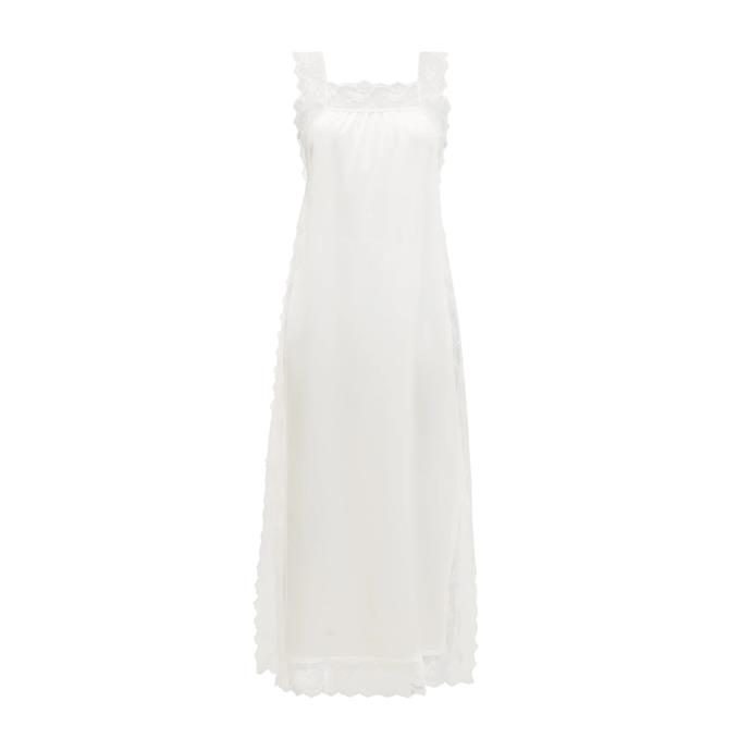 "Silk dress by Sir, $360 at [MATCHESFASHION.COM](https://fave.co/2rR9fuz|target=""_blank""