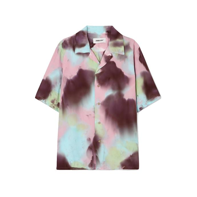 "Shirt by AMBUSH, $404 at [NET-A-PORTER](https://fave.co/2Q0B7Eh|target=""_blank""