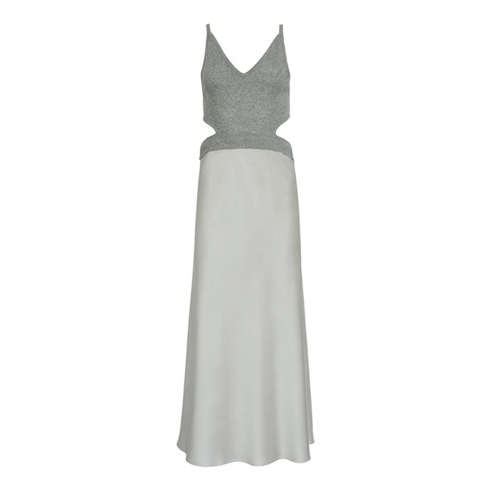 "Dress by Christopher Esber, $790 at [The Undone](https://fave.co/2PA3tpZ|target=""_blank""