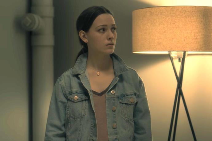 "Victoria Pedretti as Eleanor ""Nell"" Crain in Netflix's *The Haunting of HIll House*."