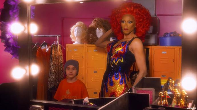 ***AJ and the Queen*** **(10/01/2019)**<br><br>  RuPaul stars in this outrageous series as a down-on-her-luck drag queen travelling across America in a van with a tough-talking 10-year-old stowaway.