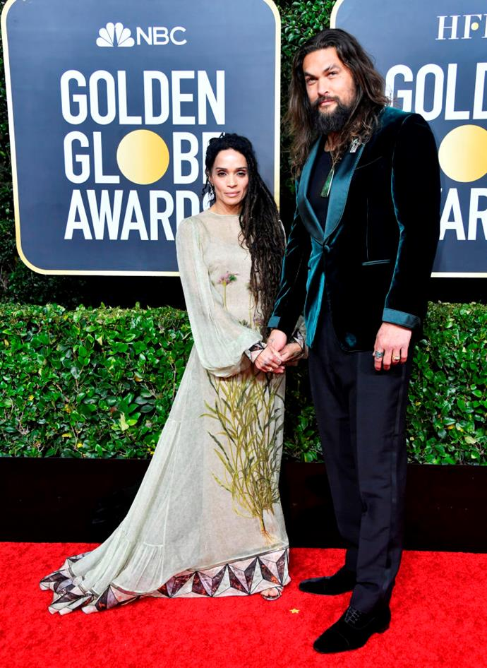 Lisa Bonet and Jason Momoa.