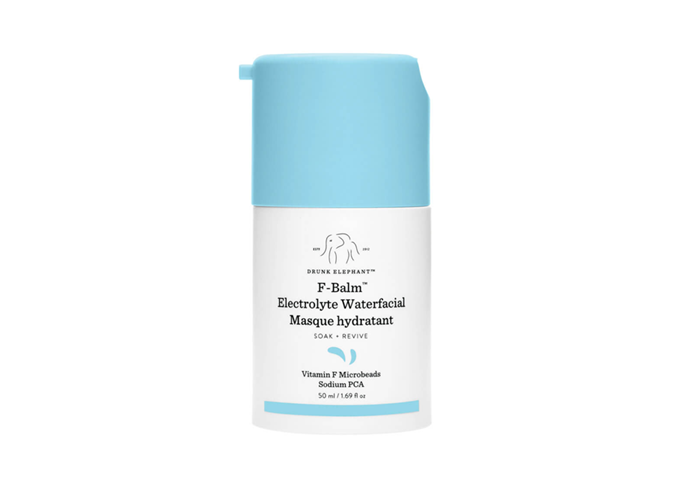 "**F-Balm Electrolyte Waterfacial™ by Drunk Elephant, $80 at [MECCA](https://www.mecca.com.au/drunk-elephant/f-balm-electrolyte-waterfacial/I-041927.html|target=""_blank"") (launched January 2020)**<br><br/> A hydrating mask may not *sound* like anything mind-blowing, but trust us, Drunk Elephant just changed the game. Loaded with fatty acids, [electrolytes](https://www.elle.com.au/beauty/electrolyte-skincare-22689
