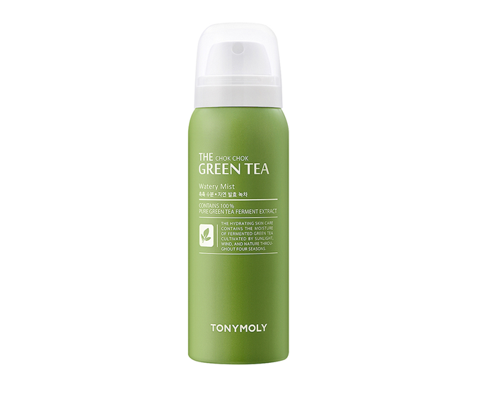"**The Chok Chok Green Tea Watery Mist by TONYMOLY, $20.65 at [REVOLVE](https://www.revolveclothing.com.au/tonymoly-the-chok-chok-green-tea-watery/dp/TYMO-WU9/|target=""_blank"")**"