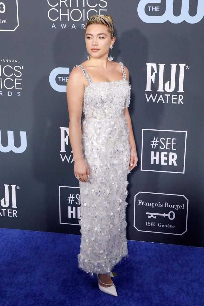 "In Prada at the [Critics' Choice Awards](http://www.czovht.tw/culture/critics-choice-red-carpet-2020-22876|target=""_blank"") in January 2020. <br><br> *Image: Getty*"