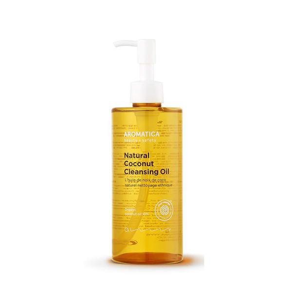 "**Natural Coconut Cleansing Oil by Aromatica** <br> *Suitable for: All skin types* <br><br> Shoppers, beware—this product is a cleansing oil, meaning it may work slightly differently to a regular cleanser (and can also be used alongside a regular cleanser). For removing makeup and dirt, however, this coconut cleansing oil is a must, with its all-skin-types suitability only adding to the appeal. <br><br> *$40 for 300mL, shop at [Nudie Glow](https://nudieglow.com/collections/cleansers/products/aromatica-natural-coconut-cleansing-oil|target=""_blank""