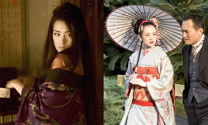 ***Memoirs of a Geisha* (2005)** <br><br> Any beauty aficionado should watch *Memoirs of a Geisha* at least once to witness the intricate beauty and hair looks on display, depicting the lives of geisha entertainers in the mid-20th century.