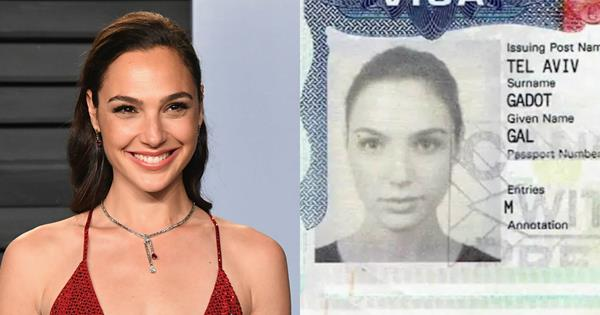 12 Celebrity Passport Photos That Are Annoyingly Attractive | ELLE Australia
