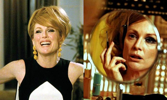 ***A Single Man* (2009)** <br><br> Tom Ford's directorial debut is chic for many reasons—one of which is Julianne Moore's character, Charley, who gave us an undisputable masterclass in early '60s beauty.