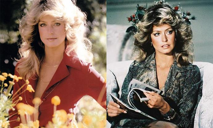 ***Charlie's Angels* (TV show, 1976—1981)** <br><br> Though the original Charlie's Angels were big-time glamour girls, Farrah Fawcett's beauty looks caused an unprecedented global sensation. Since then, the late actress has been credited with popularising the '70s-style curly 'do around the globe.