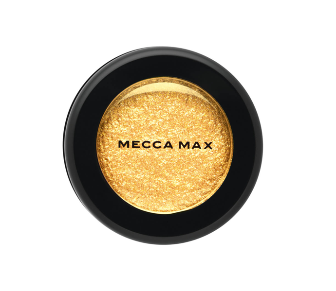 """**The shade: Butterscotch<br>The Illuminati Metallic Eyeshadow in Gold Rush by Mecca Max, $18 at [MECCA](https://www.mecca.com.au/mecca-max/the-illuminati-metallic-eyeshadow-gold-rush/I-031631.html?gclid=CjwKCAiAsIDxBRAsEiwAV76N88EQVPKuqk1-HgT3XUmGe7BapGZK6IsEcQrHy9lQJ47-QB15_fyLyhoCuMYQAvD_BwE