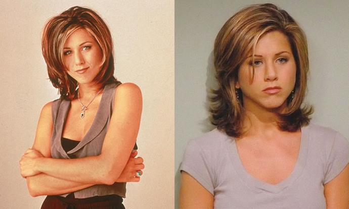 "***Friends* (TV series, 1994—2004)** <br><br> When Jennifer Aniston first appeared in her star-making role as [Rachel on *Friends*](https://www.elle.com.au/news/the-best-of-rachel-green-from-friends-fashion-9862|target=""_blank""), her hairstyle—a bluntly-chopped bob, later dubbed 'The Rachel'—caused an international sensation among viewers. To this day, Aniston uses the same hairstylist, Chris McMillan, who's said that the insanely popular cut changed his whole life."