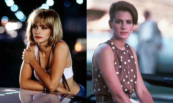 ***Pretty Woman* (1990)** <br><br> A modern love story (for its time, anyway), *Pretty Woman* saw Julia Roberts' character transform from a Hollywood sex worker to a high society darling, and her on-screen beauty glow-up inspired countless women.