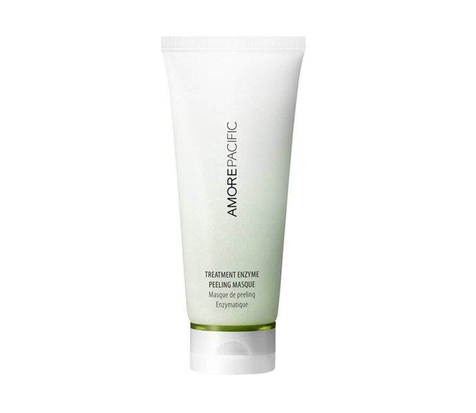 "**If your skin type is: Combination<br> Try: Treatment Enzyme Peeling Masque by AmorePacific, $92 at [MECCA](https://www.mecca.com.au/amorepacific/treatment-enzyme-peeling-mask/I-036499.html?cgpath=brands-amore|target=""_blank"")**<br> Dealing with excess oil in your T-zone but dehydration everywhere else? A peeling mask that tows the line between balancing and nourishing is your best bet. Remember, hydration is a friend to oil, not an enemy, so despite the fact you'll be reaching for a moisture-boosting formula, we recommend rinsing off the portion applied to your cheeks and chin after five minutes, and letting the t-zone set until the ten minute mark.<br> With a formula that blends AHAs with hydrating green tea water, this radiance-revealing peel goes on as a powder, then transforms into a white mask once it hits skin. The peel-off process is every bit as satisfying as you expect, but the pain-factor is (thank God) practically non-existent."