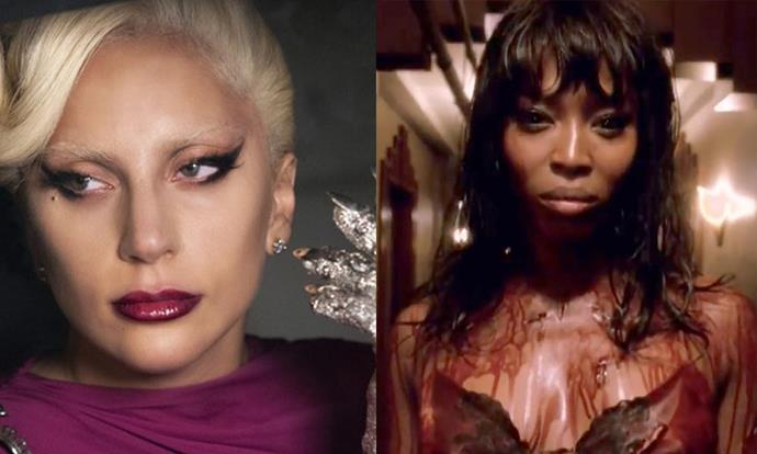 ***American Horror Story: Hotel* (2015)** <br><br> The fifth season of *AHS* introduced us to Lady Gaga's 'The Countess', whose vampiric beauty looks took our breath away—not to mention, inspiring a million 'get the look' beauty tutorials. The appearances of beauty icon Naomi Campbell and even It-girl Chloë Sevigny only added to the appeal.