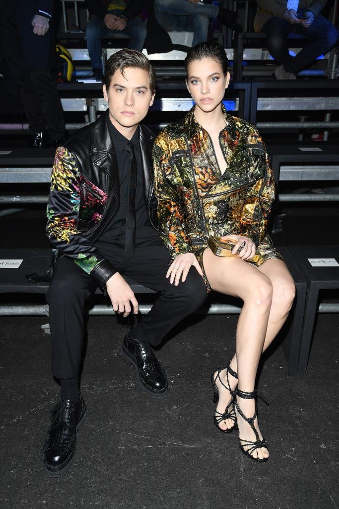 Dylan Sprouse and Barbara Palvin at Dsquared2.