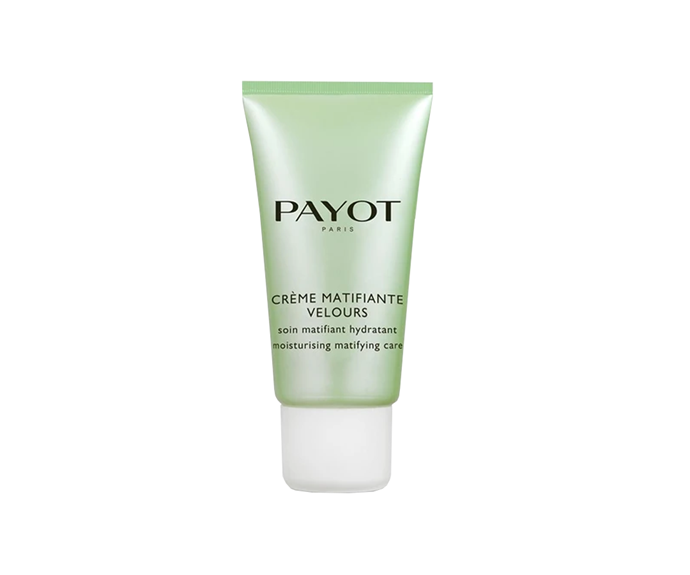 """**Crème Matifiante Velours Moisturising Mattifying Care by Payot, $41 at [Cosmetics Now](https://buy.cosmeticsnow.com.au/iteminfo/payot-pate-grise-creme-matifiante-velours-moisturizing-matifying-care-50ml