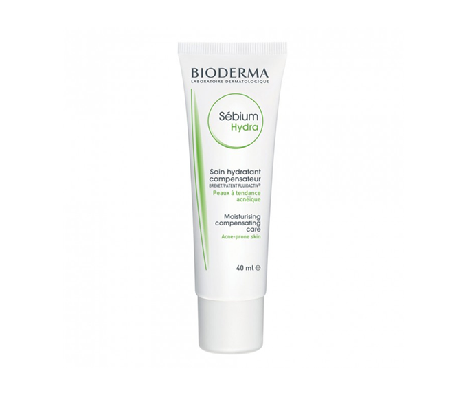 """**Sébium Hydra by Bioderma, $25.99 at [Priceline](https://www.priceline.com.au/bioderma-sebium-hydra-40-ml?gclid=Cj0KCQiAmZDxBRDIARIsABnkbYSUdJFEZ6bo8ysbVVqOM_SQu0yZafh_mG9BmgZRV-sA7RAGWtTa0N0aAoc4EALw_wcB&gclsrc=aw.ds