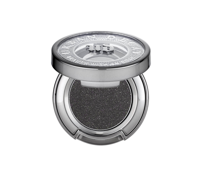 """**The shade: Charcoal<br>Eyeshadow in Oil Slick by Urban Decay, $33 at [MECCA](https://www.mecca.com.au/urban-decay/eyeshadow/V-026713.html