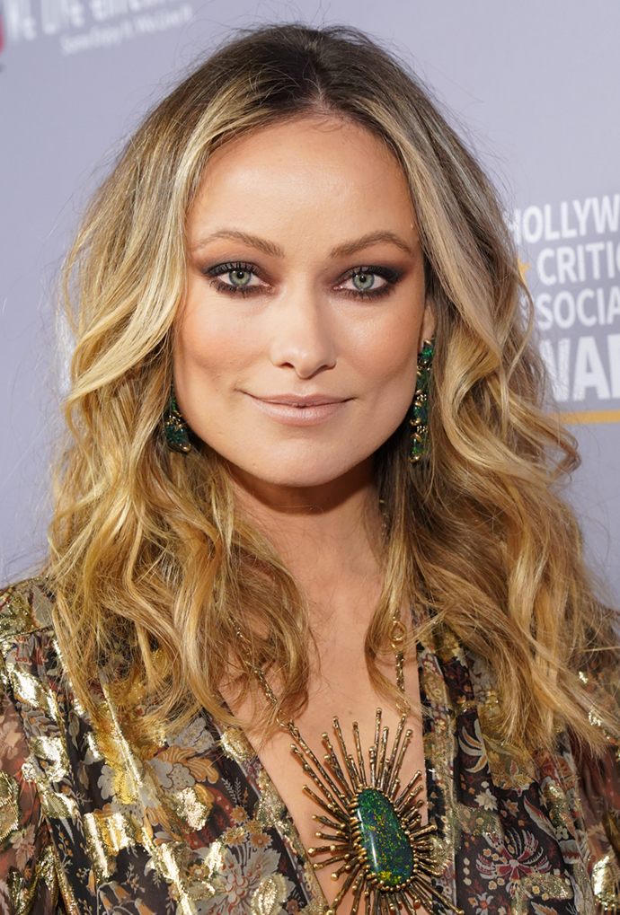 **Olivia Wilde**<br></br> Wilde's chocolate roots make her caramel colour pop.