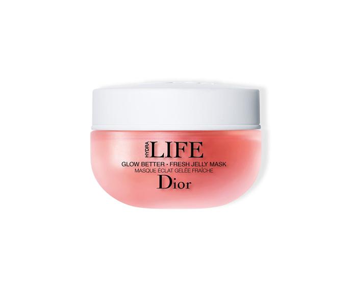 "**Hydra Life Glow Better Fresh Jelly Mask by Dior, $98 at [David Jones](https://www.davidjones.com/Product/21043707?istCompanyId=466a8370-6b00-4f27-87e1-ca6839e80dd6&istFeedId=e623e8fb-2ac0-43c5-9b01-5f07405aa50c&istItemId=wmpaiiapl&istBid=t&gclid=Cj0KCQiAsbrxBRDpARIsAAnnz_OGuCL74iR70etqyrYdRKBCBJI00tZceek0FwXIZxTzmgCZYhUfYmUaAkmjEALw_wcB&gclsrc=aw.ds|target=""_blank"")**<br> A jelly texture always ups the fun ante, but this texture-smoothing, tone-reviving formula takes care of business too."