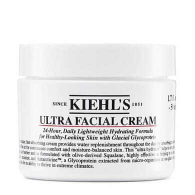 "**'Ultra Facial Cream' by Kiehl's** <br><br> There's a reason Kiehl's' 'Ultra Facial Cream' has attained cult status, becoming one of their best-selling products. With its thick (albeit not *too* thick) formula, it'll keep your skin moist for up to 24 hours after application, steering clear of the unwanted moisturiser 'sheen' that many people fear. <br><br> *$51 for 50mL, available at [Kiehl's](https://fave.co/3aNMiK6|target=""_blank""
