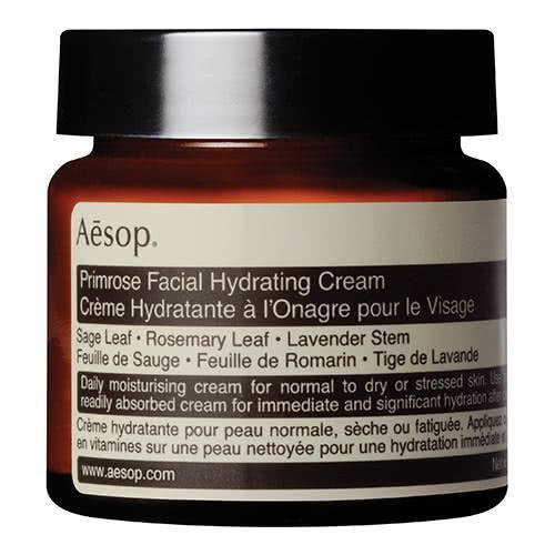 "**'Primrose Hydrating Facial Cream' by Aesop** <br><br> One of Aesop's best moisturisers for dry skin, this product incorporates natural ingredients to boost your skin's hydration to its peak level (with the delicious primrose scent as an added bonus). <br><br> *$55 for 60mL, available at [ADOREBEAUTY](https://fave.co/2uzTIQO|target=""_blank""