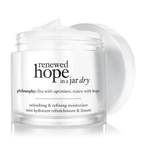"**Renewed 'Hope in a Jar' for Dry Skin by Philosophy** <br><br> Though Philosophy's 'Hope in a Jar' has been a cult beauty industry favourite for years, the brand has re-formulated their popular product with a dry skin variant, with even further hydrating qualities for those who suffer to retain skin moisture throughout daytime and nighttime. <br><br> *$68 for 60mL, available at [ADOREBEAUTY](https://fave.co/2Gq1PC6|target=""_blank""
