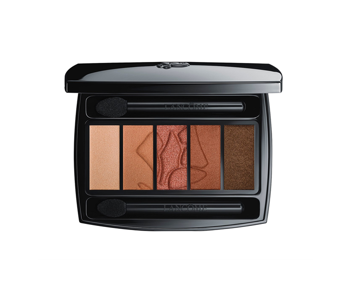 "**Hypnôse Eyeshadow Palette in Terre De Sienne by Lancôme, $87 at [David Jones](https://www.davidjones.com/beauty/eyes/eyeshadow/22808080/Hypn%C3%B4se-Eyeshadow-Palette.html|target=""_blank"")**<br> A sunset spectrum that practically screams 'everyday smoky eye'."