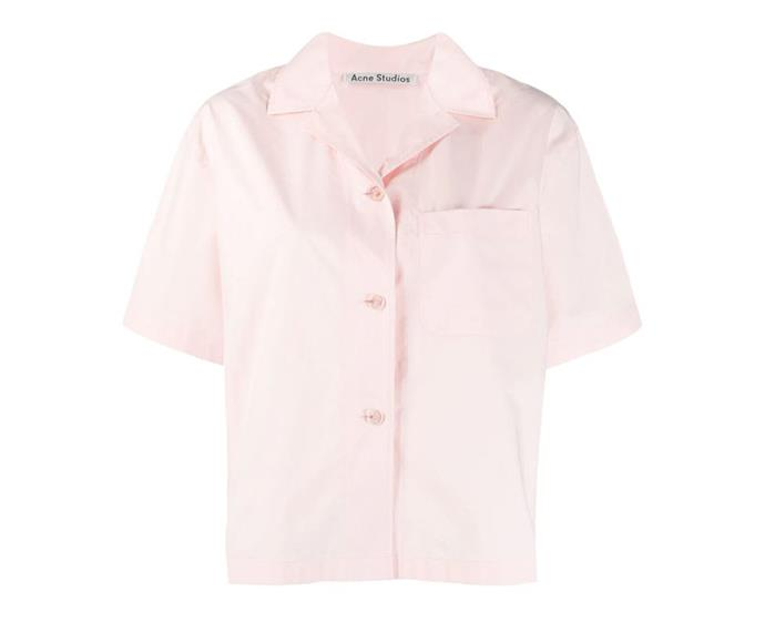 """**Bowling shirt by Acne Studios, $360 at [farfetch.com](https://www.farfetch.com/au/shopping/women/acne-studios-bowling-shirt-item-14079229.aspx?size=18&storeid=11786