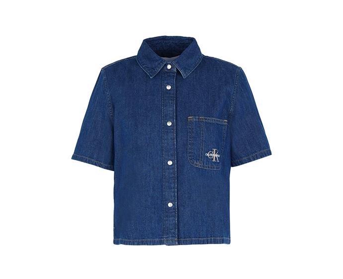 """**Denim shirt by Calvin Klein Jeans, approx $119 AUD at [Yoox](https://www.yoox.com/au/42789900EL/item#dept=clothingwomen&sts=sr_clothingwomen80&cod10=42789900EL&sizeId=&sizeName=