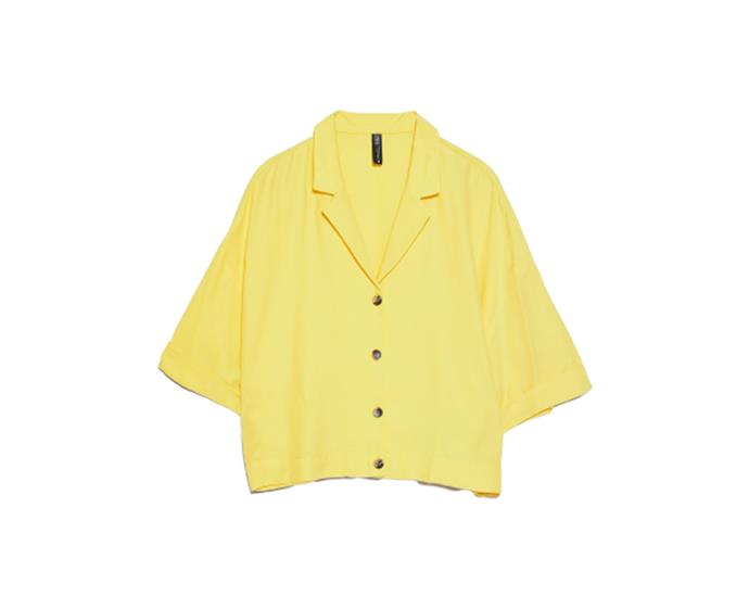 """**Buttoned shirt, $45.95 at [ZARA](https://www.zara.com/au/en/buttoned-shirt-p03583537.html?v1=34663621&v2=1010039