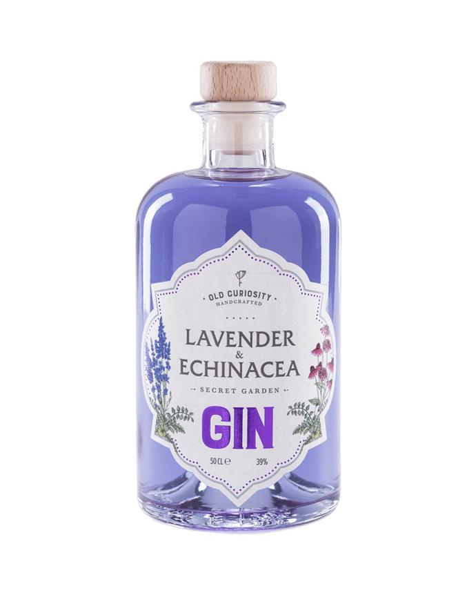 "Lavender & Echinacea Gin 500ml by The Old Curiosity, $64.99 per bottle at [Dan Murphy's](https://www.danmurphys.com.au/product/DM_54847/old-curiosity-lavender-echinacea-gin-500ml|target=""_blank""|rel=""nofollow"")."