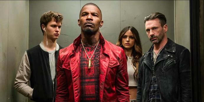 ***Baby Driver*** **(1/2/2020)**<br><br>  After being coerced into working for a crime boss, a young getaway driver finds himself taking part in a heist doomed to fail.