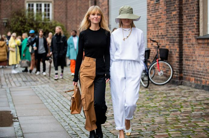 ***4. That old hat in your wardrobe? It's probably cool now*** <br><br> Of the many accessory trends that experienced a resurgence in the 2010s, one of them was unexpected hats; extending to even drawstring sunhats and baseball caps. Basically—it's time to upcycle your neglected wardrobe pieces, because we'd bet any money that they're cool now.