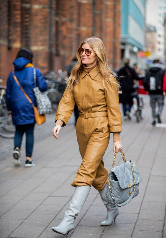 ***5. There's a new guard of It-handbags (and an emphasis on classic pieces, too)*** <br><br> Nevertheless, attendees who were spotted with brand-new accessories appeared to steer clear of seasonal fads, gravitating towards pieces that will last forever (including Chanel's new '19' bag).