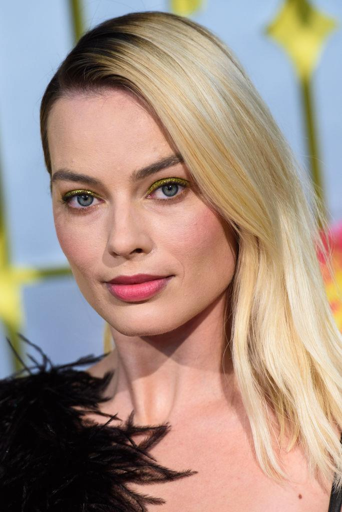 Margot Robbie at the World Premiere of 'Birds of Prey on January 29, 2020.