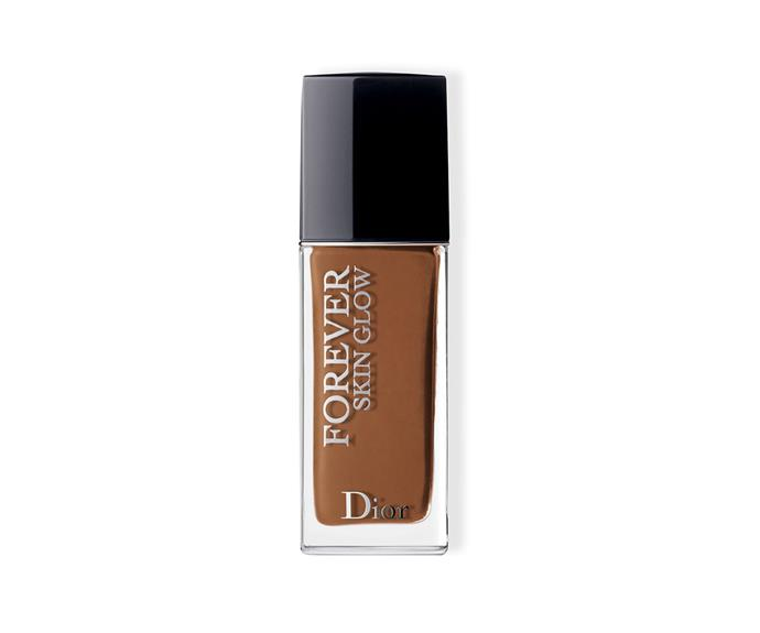 "**Dior Forever Skin Glow Foundation by Dior, $89 at [David Jones](https://www.davidjones.com/beauty/face-and-complexion/foundation/22463959/Dior-Forever-Skin-Glow-Foundation.html|target=""_blank"")**<br> A fresh finished foundation that locks in gloriously glowy (but shine-free) coverage for up to 24 hours as soon as it hits skin. The plumping, hydrating and firming benefits are purely perks."