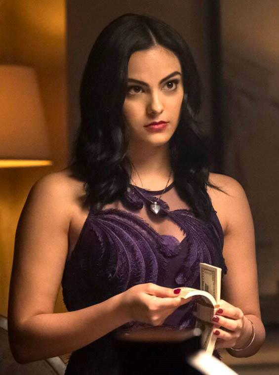 """**GEMINI: Veronica Lodge from** ***Riverdale***<br><br>  Quick-witted and exceedingly determined, *Riverdale's* local 'It'-girl Veronica Lodge has got Gemini written all over her. Clearly well-read (how else would she drop those clever literary references and quotes?), Veronica's incredibly tenacious with plenty of business acumen (buying a bar and starting a speakeasy while you're still in high school, anyone?), and like most Geminis, has an [impulsiveness](https://www.glamour.com/story/riverdale-camila-mendes-i-dont-want-to-fake-who-i-am-to-fit-a-stereotype