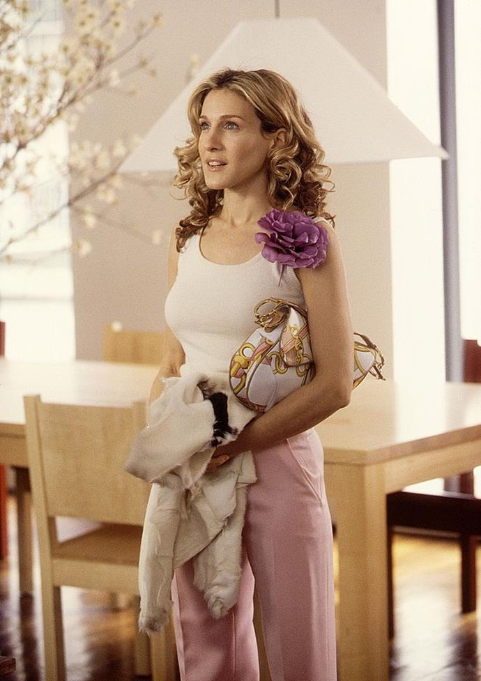 """**LIBRA: Carrie Bradshaw from** ***Sex and the City***<br><br>  If any sign is known for being a social butterfly with an unending love of luxury and a penchant for overthinking—it's definitely Libra. And when it comes to embodying the sign in TV 'It'-girl form, [*Sex and the City's*](https://www.elle.com.au/culture/sarah-jessica-parker-sex-and-the-city-theory-22506