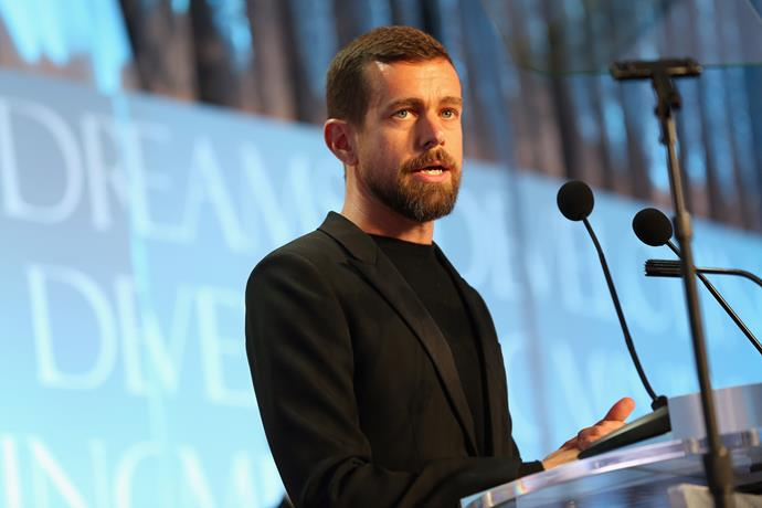 Twitter CEO Jack Dorsey courted controversy when he revealed he eats only seven meals a week Image: Getty
