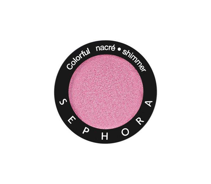 "**The shade: Bubblegum<br> Colorful Eyeshadow Mono in Sweet Candy by Sephora Collection, $13 at [Sephora](https://www.sephora.com.au/products/sephora-collection-colorful-eyeshadow-mono/v/260-sweet-candy|target=""_blank"")**<br> As the colour that sits directly opposite from brown on the colour wheel, pinks will *always* pop. A bubblegum hue strikes the perfect balance betwen warm and cool, so it will enhance every brown eye colour from espresso to honey."