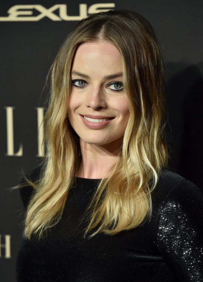 Combining soft bombshell waves with graphic eyeliner to great effect at the *ELLE* Women In Hollywood event in October 2019.
