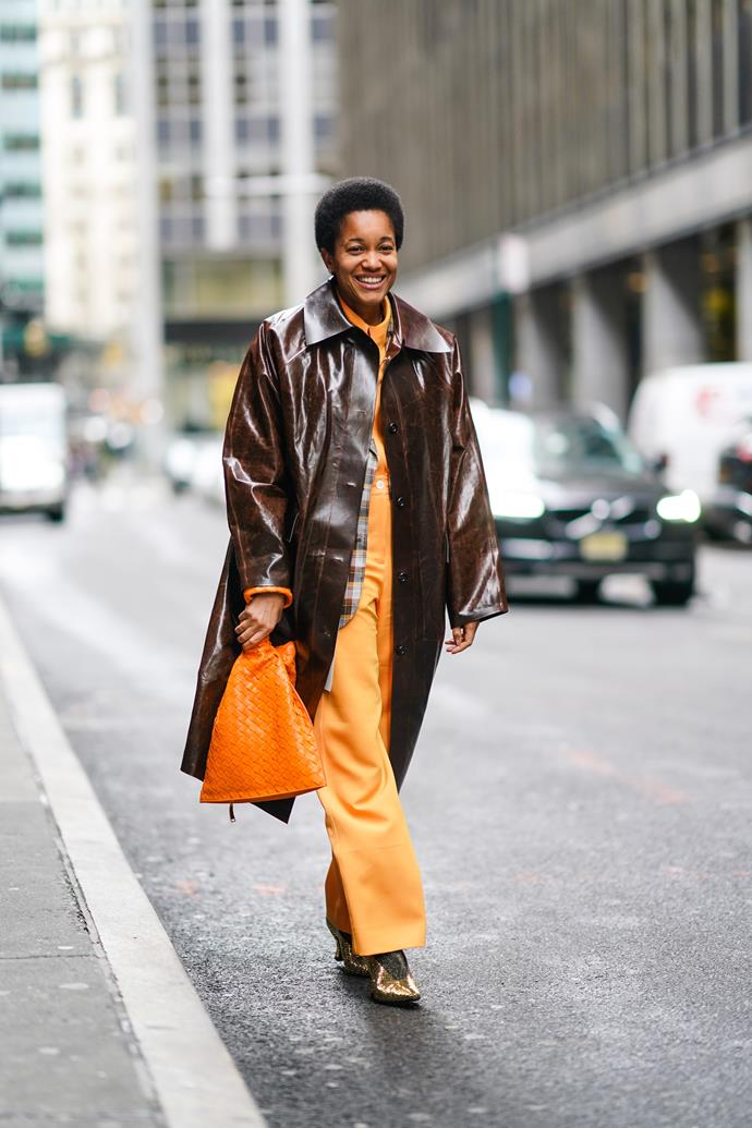 Tamu Macpherson at New York Fashion Week AW'20 Image: Getty