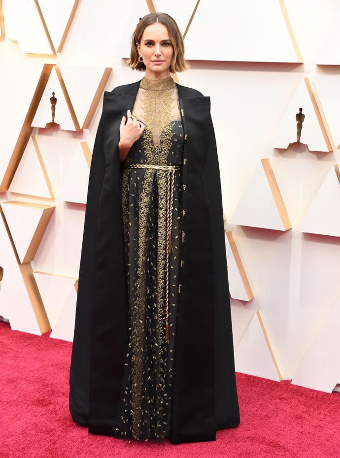 Portman at the Academy Awards on February 9, 2020.