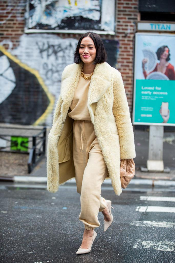 **Shearling Cocoons**<br><br>  If there's one item that's sure to become a saviour in an existential wardrobe crisis this winter, it's got to be a cocoon-style shearling coat. Moving beyond the standard trim, we're talking allover, longline and voluminous numbers that you'll want to dive into with your favourite book and a flashlight.